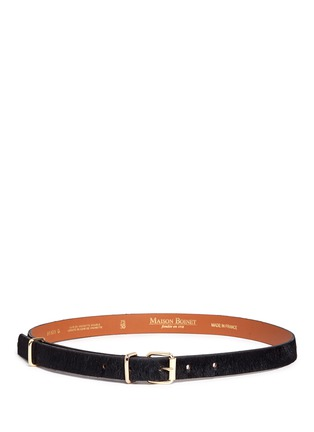Main View - Click To Enlarge - Maison Boinet - Ponyhair belt