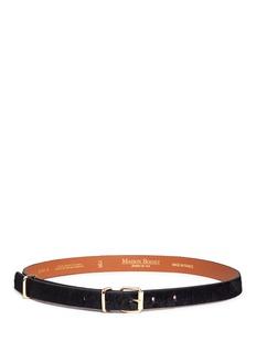 Maison BoinetPonyhair belt