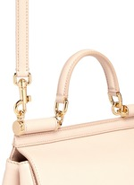 'Miss Sicily' medium leather satchel