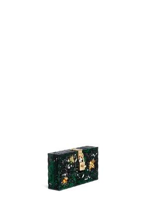 Figure View - Click To Enlarge - Dolce & Gabbana - 'Dolce Box' jewel embellished Plexiglas clutch