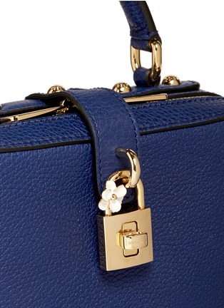 Detail View - Click To Enlarge - Dolce & Gabbana - 'Dolce Soft' drummed calfskin leather bag