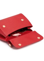 'Miss Sicily' medium leather satchel
