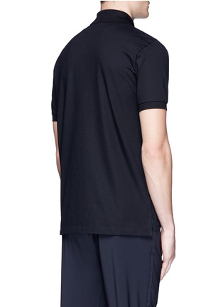 Paul Smith - Ghost embroidery cotton polo shirt