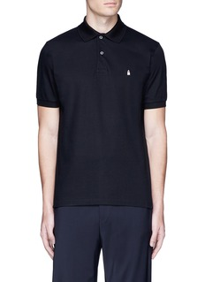 Paul SmithGhost embroidery cotton polo shirt