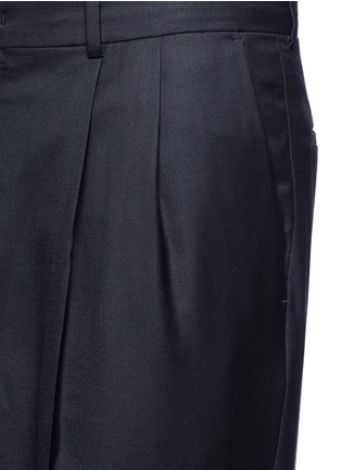 Detail View - Click To Enlarge - Paul Smith - Roll cuff wool pants