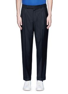 Paul SmithRoll cuff wool pants