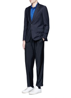 Paul Smith Roll cuff wool pants