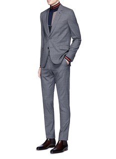 Paul Smith 'Soho' Prince of Wales check wool-silk suit