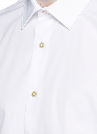 Detail View - Click To Enlarge - Paul Smith - 'Soho' contrast cuff lining shirt