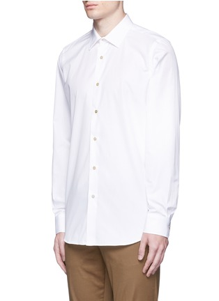 Front View - Click To Enlarge - Paul Smith - 'Soho' contrast cuff lining shirt