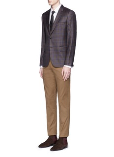 Paul Smith'Soho' contrast cuff lining shirt