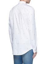 Ghost jacquard cotton shirt