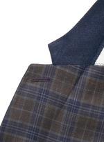 'Soho' check plaid wool blazer