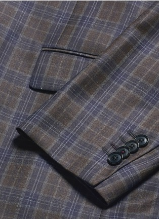 Paul Smith-'Soho' check plaid wool blazer