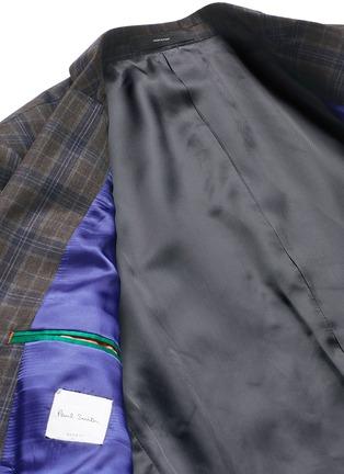 - Paul Smith - 'Soho' check plaid wool blazer