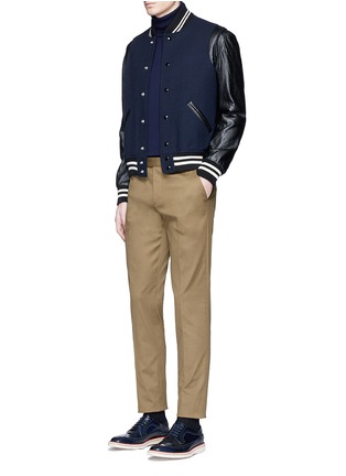 Figure View - Click To Enlarge - Paul Smith - Stretch cotton chinos