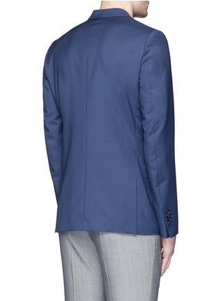 Back View - Click To Enlarge - Paul Smith - 'Soho' wool-Mohair hopsack blazer