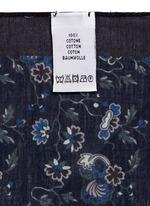 'Logan Floral' cotton pocket square
