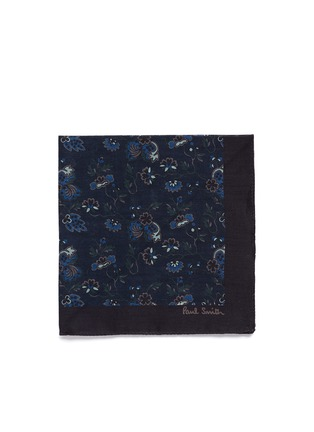 Main View - Click To Enlarge - Paul Smith - 'Logan Floral' cotton pocket square
