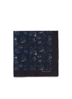 Paul Smith 'Logan Floral' cotton pocket square