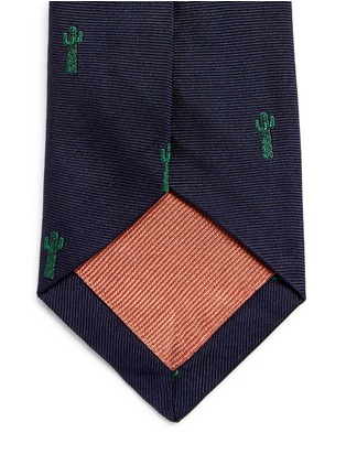Detail View - Click To Enlarge - Paul Smith - x Gufram cactus embroidery silk tie