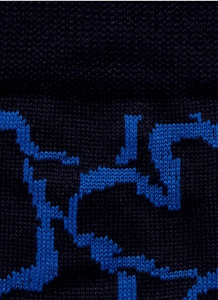Detail View - Click To Enlarge - Paul Smith - Heart chain socks