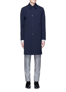 Paul Smith Water resistant bonded wool twill coat