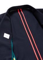 'Soho' lattice overlay wool soft blazer