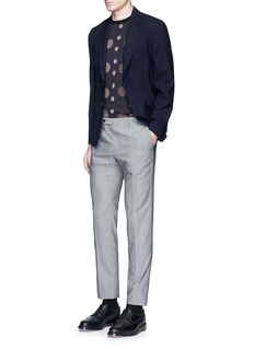Paul Smith 'Soho' lattice overlay wool soft blazer