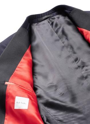 - Paul Smith - 'Soho' repp trim dot dobby tuxedo suit