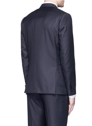 Back View - Click To Enlarge - Paul Smith - 'Soho' repp trim dot dobby tuxedo suit