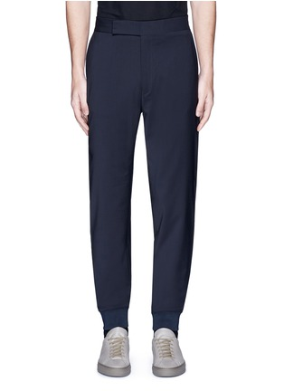 Main View - Click To Enlarge - Paul Smith - Relaxed fit wool jogging pants