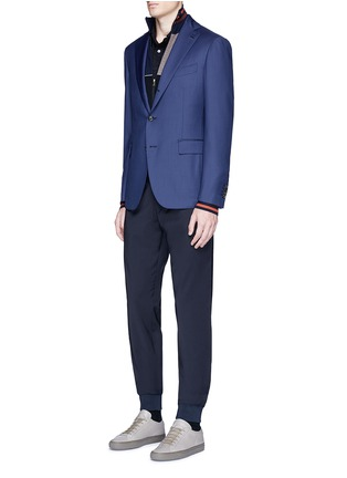 Figure View - Click To Enlarge - Paul Smith - Relaxed fit wool jogging pants
