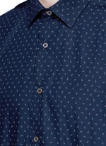 Paisley print cotton shirt