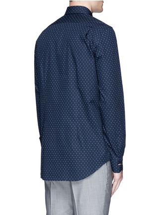 Back View - Click To Enlarge - Paul Smith - Paisley print cotton shirt
