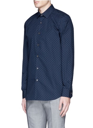 Front View - Click To Enlarge - Paul Smith - Paisley print cotton shirt
