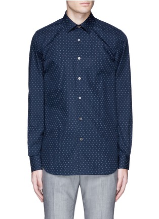 Main View - Click To Enlarge - Paul Smith - Paisley print cotton shirt