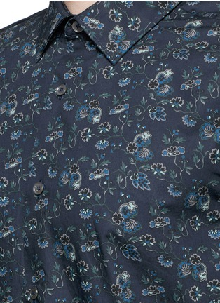 Detail View - Click To Enlarge - Paul Smith - 'Vine Floral' print cotton shirt
