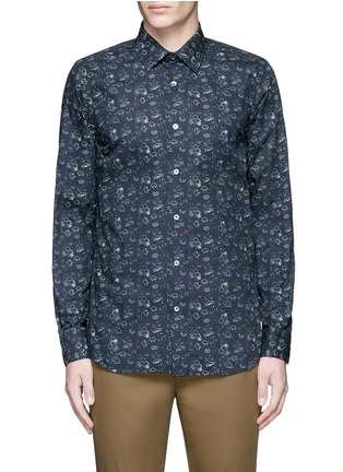 Main View - Click To Enlarge - Paul Smith - 'Vine Floral' print cotton shirt