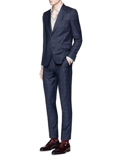 Paul Smith 'Soho' contrast check wool suit