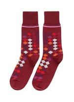 Falling diamond socks
