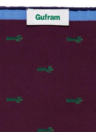 Paul Smith-x Gufram cactus print pocket square