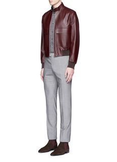 Paul Smith Leather flight jacket