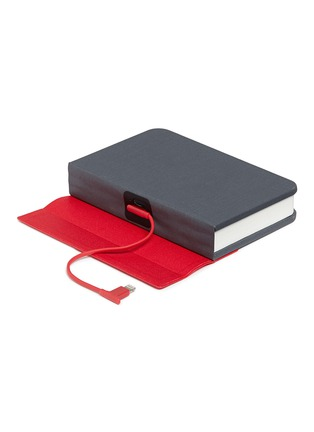 Detail View - Click To Enlarge - Lumio - Mini Lumio+ folding book lamp – Gray/Red