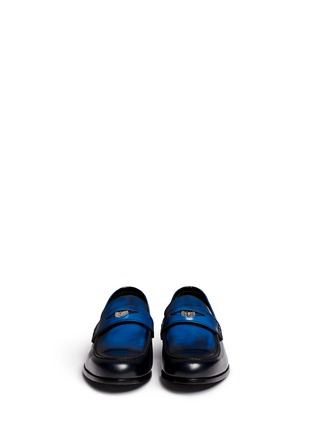 Front View - Click To Enlarge - Jimmy Choo - 'Darblay' leather penny loafers