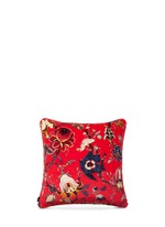 Artemis large cotton velvet cushion
