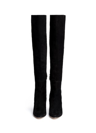 Figure View - Click To Enlarge - Cole Haan - 'Marina' suede thigh high boots