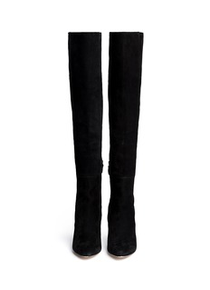 COLE HAAN'Marina' suede thigh high boots
