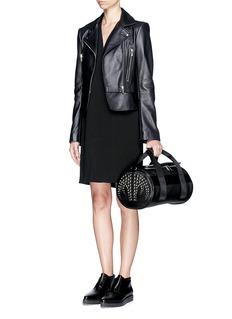 ALEXANDER WANG Stud small leather duffle bag
