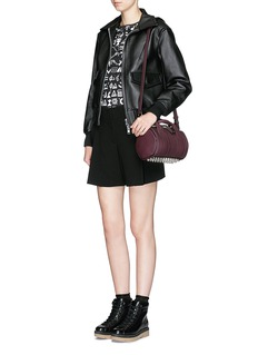 ALEXANDER WANG 'Mini Rockie' pebbled matte leather duffle bag